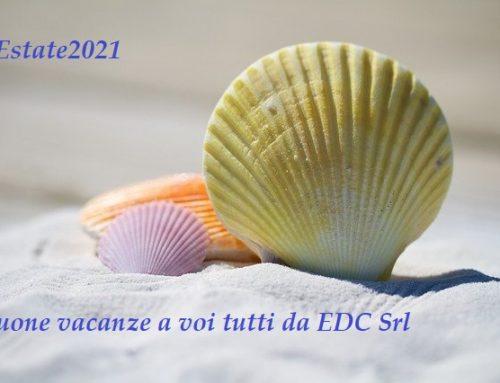 Buone vacanze da EDC SRL